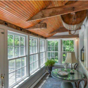 Antique sunroom renovation- Wilton, CT 06897